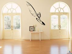 Windsurfing Surfing Sailing sailboard kitesurfing mast Olympic class Raceboard Big Air Super X Speedsurfing Freestyle Wall sticker decal3178