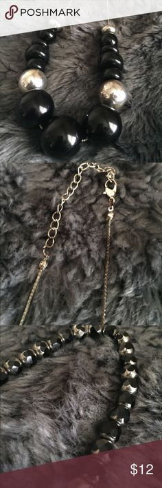I just added this listing on Poshmark: Black and Silver Beaded Necklace. #shopmycloset #poshmark #fashion #shopping #style #forsale #Jewelry