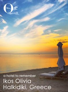 A hotel to remember: Ikos Olivia in Halkidiki, Greece Top All Inclusive Resorts, Hotels And Resorts, Luxury Hotels, Places Around The World, Travel Around The World, Around The Worlds, Halkidiki Greece, Ultimate Travel, Nature Pictures