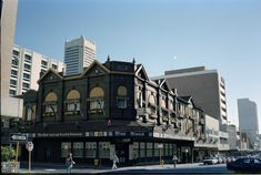 311251PD: Miss Maud Hotel and Swedish Restaurant, corner of Murray and Pier Streets, Perth, May 1981 https://encore.slwa.wa.gov.au/iii/encore/record/C__Rb3800011