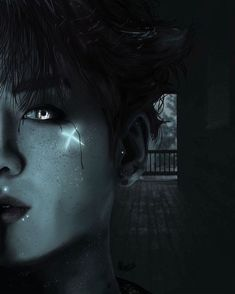 "'""X'd""~ Jeon Jungkook' by Deadquartz Foto Jungkook, Foto Bts, Jungkook Fanart, Kpop Fanart, Bts Photo, Bts Taehyung, Wattpad, Dark Anime Guys, Bts Drawings"