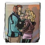 Family Hug Drawstring Backpack #weddinginspiration #wedding #weddinginvitions #weddingideas #bride
