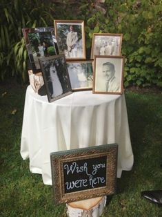 Touching Ways To Remember Lost Loved Ones At Your Wedding-- Still trying to decide how I will honor those I have lost at my wedding. Can't decide which of these ideas to go with.