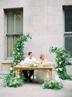 A Classic Wedding at