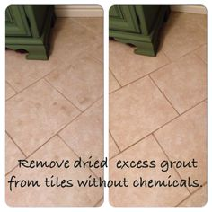 Removing DriedOn Grout And Refreshing Grout Lines India - Dried grout remover