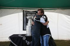 Touring with the Stanley Cup: Jarret Stoll And Brad Richardson - Visual Storytelling from the Los Angeles Times