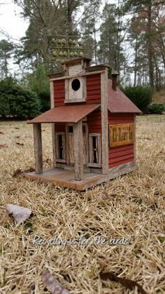 Little country store birdhouse.