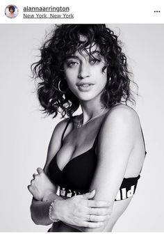 The 36 Best Alanna Arrington Images On Pinterest In 2018 Frizzy Hair Ringlets Hair And Crazy Hair