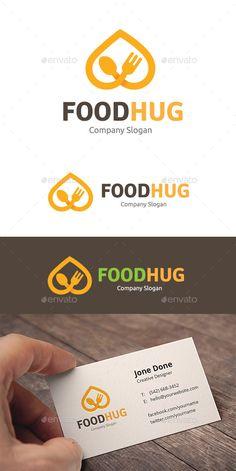 Food Hug - Food Logo Templates