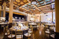 Glamorous Gold and Black San Diego Wedding - MODwedding