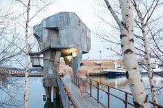 Gothenburg sauna by Raumlabor