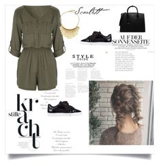 """""""88456"""" by juliette-grimm ❤ liked on Polyvore featuring CHARLES & KEITH, Diane Von Furstenberg and Puma"""