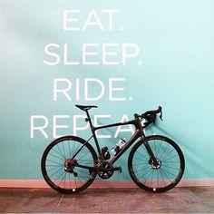 Eat, Sleep, Ride, Repeat. #RideLife #RideGiant #DefyLimits | photo by @melfarah