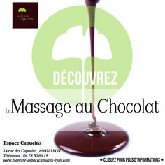 massage au chocolat à Lyon