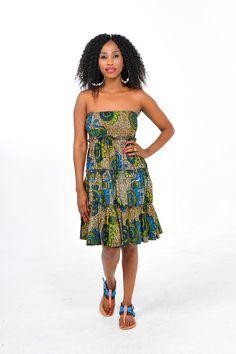 African Print Tube Dress #Africanfashion #AfricanWeddings #Africanprints #Ethnicprints #Africanwomen #africanTradition #AfricanArt #AfricanStyle #Kitenge #AfricanBeads #Gele #Kente #Ankara #Nigerianfashion #Ghanaianfashion #Kenyanfashion #Burundifashion #senegalesefashion #Swahilifashion ~DK