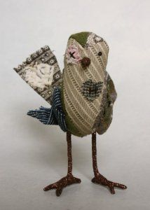 Woebegones - birds who have had problems but have persevered. By the amazing Ann Wood.