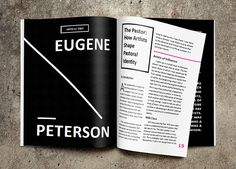 Typographic Magazine on Behance