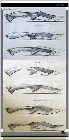 knife making metal Cool Knives, Knives And Swords, Knife Shapes, Knife Drawing, Drawing Art, Knife Template, Collector Knives, Trench Knife, Knife Patterns