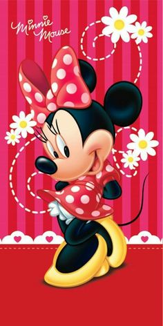 Minnie Mouse It's All About Minnie Classic Walt Disney Poster ! Disney Mickey Mouse, Arte Do Mickey Mouse, Retro Disney, Minnie Mouse Party, Mouse Parties, Disney Art, Walt Disney, Minnie Baby, Wallpaper Do Mickey Mouse