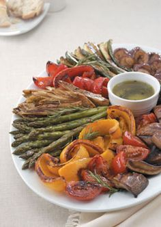 Tuscan Grilled Veget