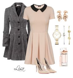 """""""In a meeting"""" by coolmommy44 ❤ liked on Polyvore featuring Sophia Webster, FOSSIL, Pasquale Bruni and Balenciaga"""