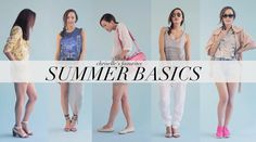 My Favorite Summer Basics
