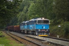 753.759+753.777 Lipová Lázně jeskyně 17.9.2017 Mn55373 Rail Transport, Bahn, Transportation, Videos, Photos, Railings, Train, Pictures