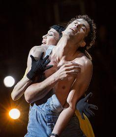 crystalline-pleasure:    Eleonora Abbagnato and Stéphane Bullion  Le Jeune Homme et la mort Roland Petit Teatro dellOpera di Roma   Yasuko Kageyama