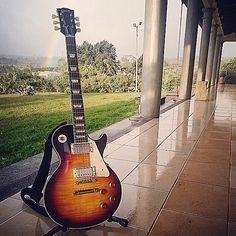 """A '58 Reissue Gibson Les Paul"