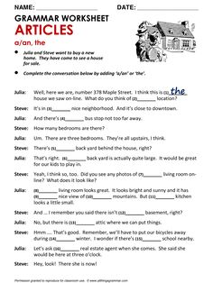 English Grammar Articles www.allthingsgrammar.com/articles.html