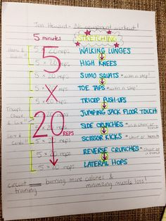 Jen Heward's Beach Workout! I've gotta try it