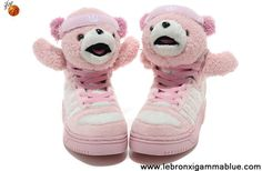 finest selection db691 49139 Fashion Adidas X Jeremy Scott Teddy Bear Shoes Pink Basketball Shoes Shop  Kevin Durant Basketball Shoes
