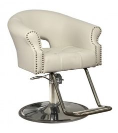 Arnage Styling Chair in Ivory