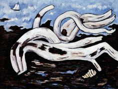 Driftwood on the Bagaduce, 1939-40 (oil on canvas)