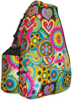 Austin Flowers Small Sling! ***Hot product from the Life Is Tennis Product Line!***