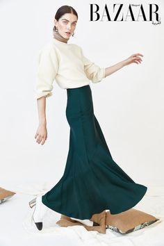 Harper's Bazaar Arabia Winter 2017 Sanne De Roo by Federico Barbieri