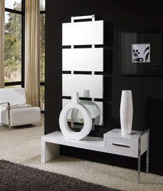 Espejo Amico - #espejo, #mirror, #spiegel , #mobiliario, #furniture, #design, #diseno, #interiorismo, #interiorism, #deco, #decoration, #decoracion, #dekoration, #diningtable. Ladder Bookcase, Shelving, Entryway, Madrid, Home Decor, Furniture Design, Style, Mirror, Ideas