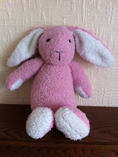 Snuggly sirdar knitted bunny