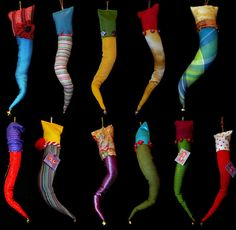 cikaowl's Cornicello, True Colors, Sewing, Gifts, Feltro, Photos, Gift, Italian Jewelry, Fabrics
