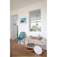 901 Tea Trolley - Artek - Alvar Aalto - Low and Side Tables - Furniture by Designcollectors Steel Furniture, Table Furniture, Tea Trolley, Big Stock, Alvar Aalto, Tubular Steel, Side Tables, Deco, Chair