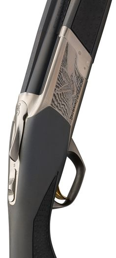 Browning Cynergy Feather Composite Charcoal Gray $2,800 MSRP Lightweight alloy and steel low-profile receiver, charcoal gray composite stock with black overmolding, silver nitride low profile receiver, matte blued barrels.