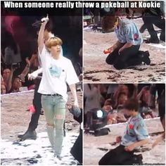 Hey she wants to catch Jungkook I would do the same