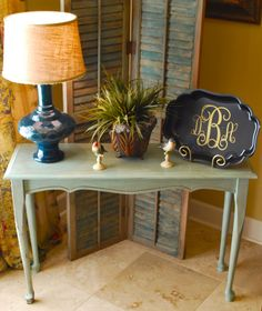 Console Table Makeover! | Amanda Jane Brown