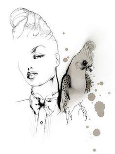 Living by Miriam: Illustrationer