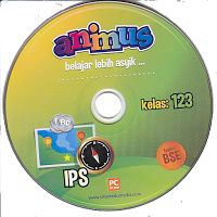 CD ANIMUS IPS KELAS 1, 2, 3 SD/ MI