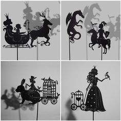 ANY type of professional Shadow Puppets with or without mechanization. Any fairy tale. Handmade from Plywood. Puppet Toys, Marionette Puppet, Puppet Show, Shadow Theatre, Toy Theatre, Shadow Art, Shadow Play, Professional Puppets, Paper Art