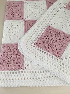 This pattern was designed for my niece as a wedding gift. I wanted a timeless yet simple square that could be used for a throw, a baby blanket, or even as a table runner. It came out quite elegant. This will be your go to pattern for a wedding gift or baby shower.