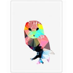 Crystal Owl as Art Print by Three Of The Possessed | Art. Everywhere.