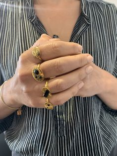 . . . . . #svpjewellery#bohostyle#thatswhatilike#charmrings#stackingrings#autumnvibes#lovescolour#handcrafted#jewellery#gemstonerings#handcandy#jeweleryblogger#hands#ringaddict#crystals#crystalmeaning#gemstonering#handcandy#adjustablerings#jewelery#statementrings#prettythings#discoverunder10k#India#ethical#gems#shopsmall#handsonsvp Handcrafted Jewelry, Boho Fashion, Jewelery, Finger, Rings For Men, Hands, India, Gemstones, Crystals