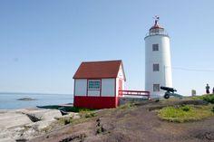 Phare de l'Île Verte - le plus ancien du Saint-Laurent Québec
